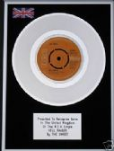 "THE SWEET - 7"" Platinum Disc  HELL RAISER"
